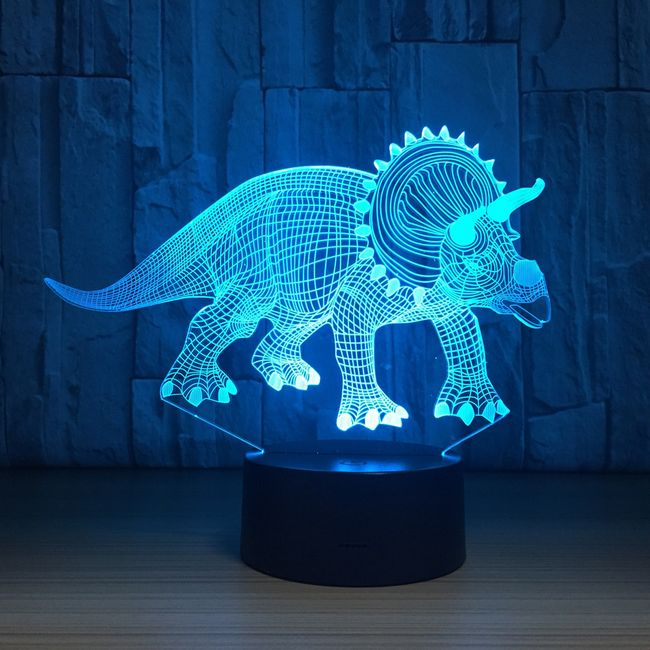 3D LED lampa Koal 1