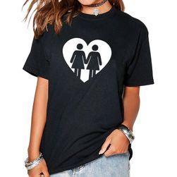 Koszulka z obrazkiem lesbijek