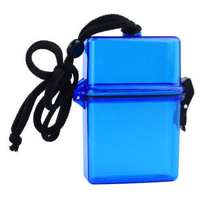 Vodotěsný plastový box na drobné předměty 1