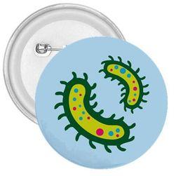 Przypinka Mikroby