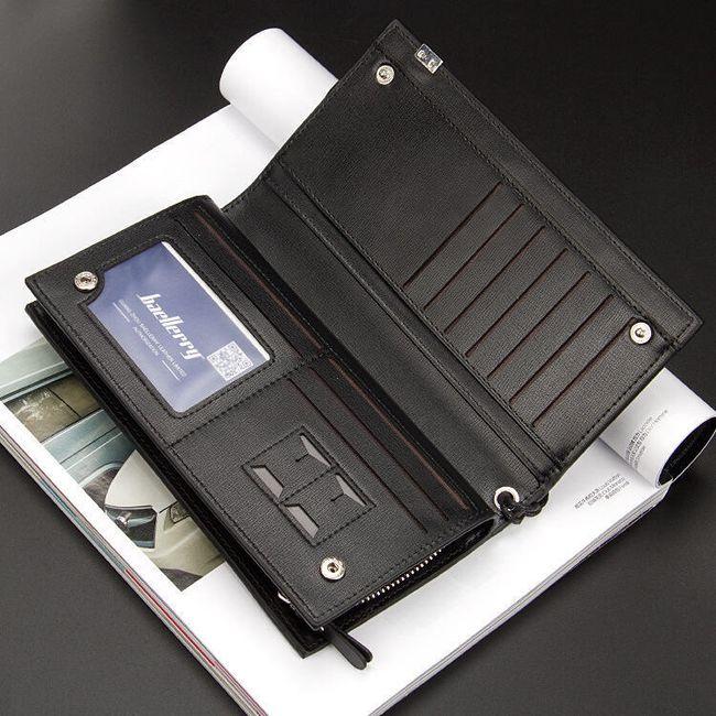 Unisex denarnica s prostorom za telefon 1