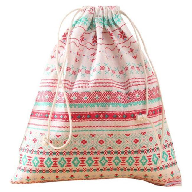 Textilní vak na přezůvky - 7 variant 1