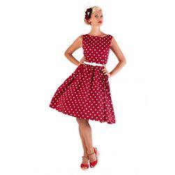 Puntíkaté šaty v retro stylu