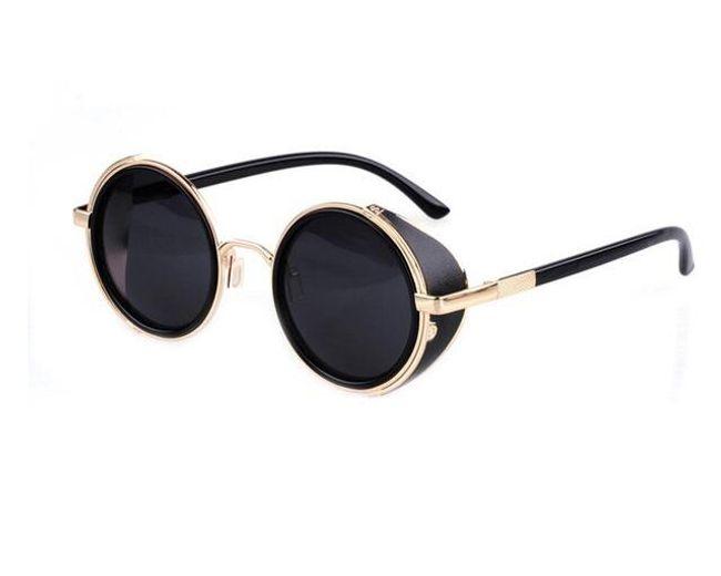 Kulaté sluneční brýle - 10 barev 1