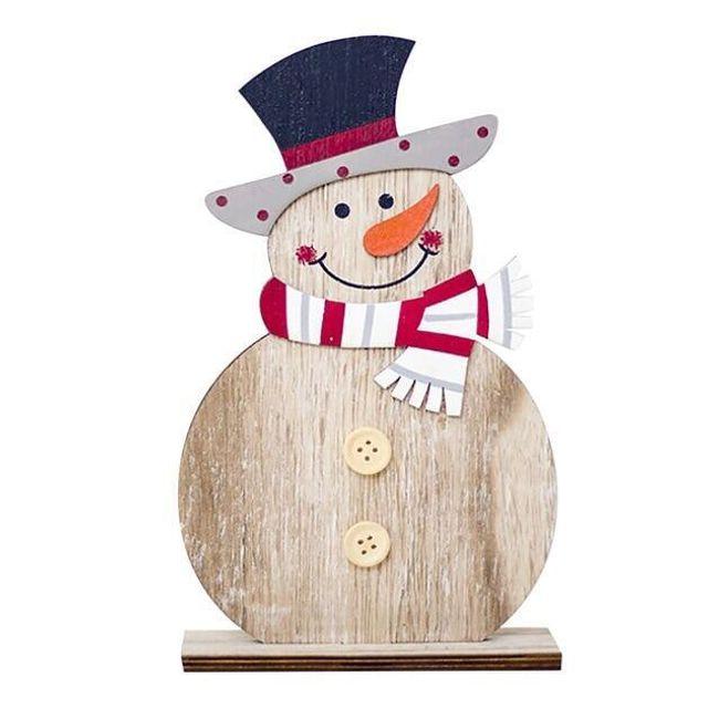 Novogodišnja dekoracija Snowman 1