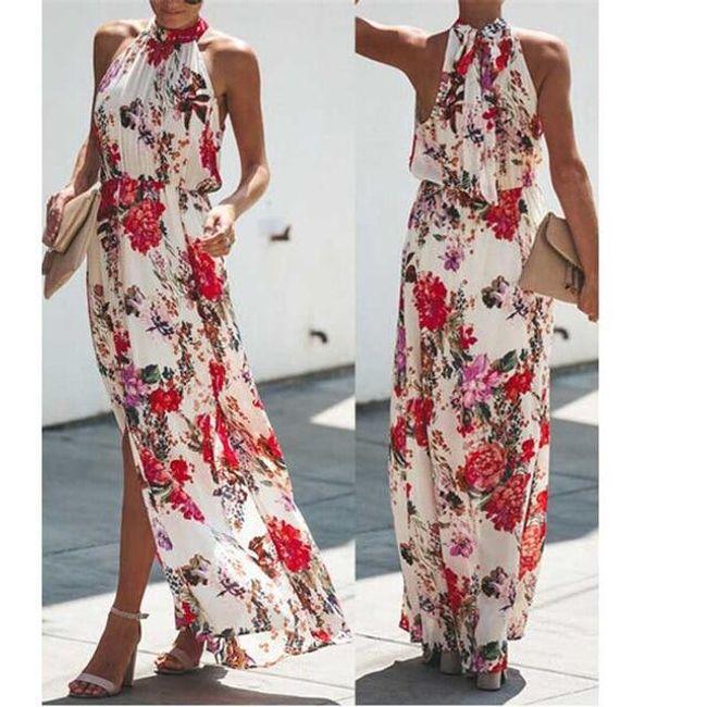 Dlouhé dámské šaty Berneice 1