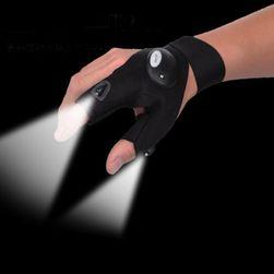 Žareče LED rokavice za manjša popravila