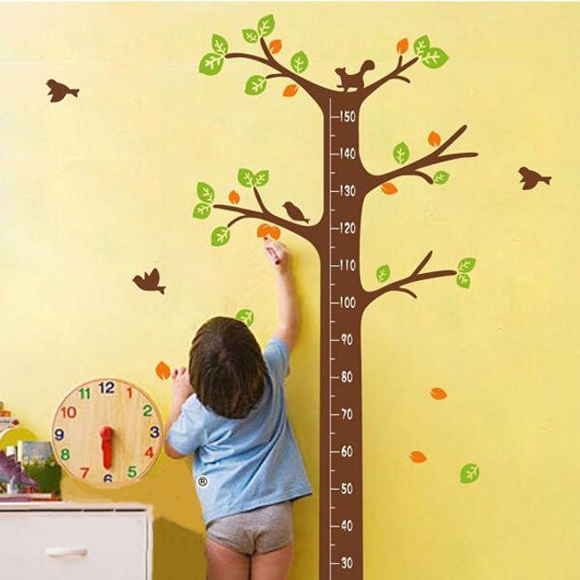 Metru pentru perete - decoratiune autoadeziva 1