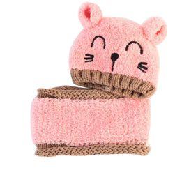 Детская шапка с шарфиком Abigall