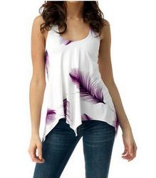 Женская блузка размеров плюс Awanata