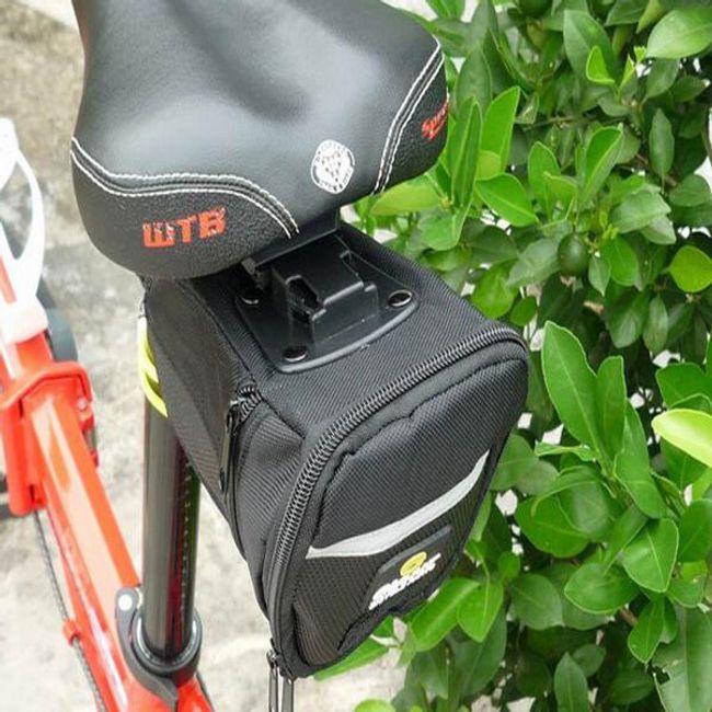 Сумка велосипедная - черная 1