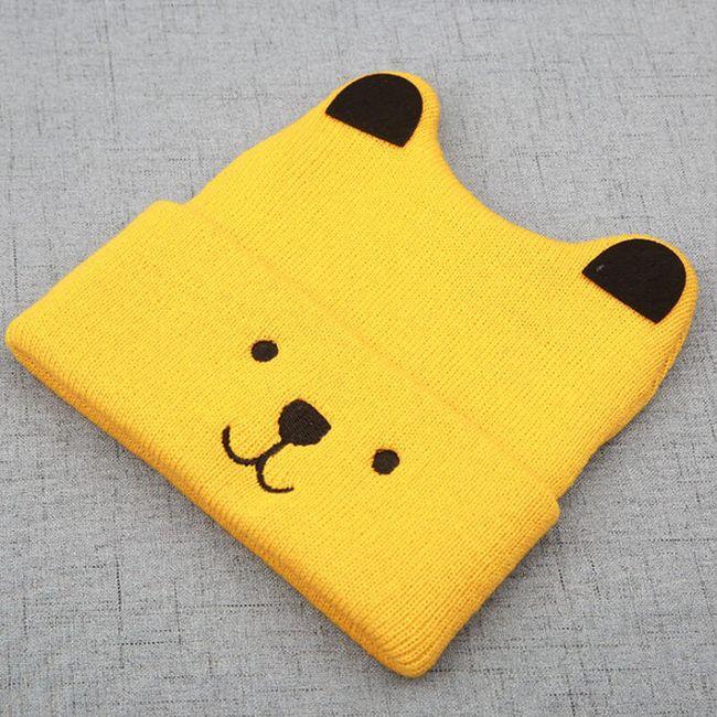 Çocuk kışlık şapka M29 1