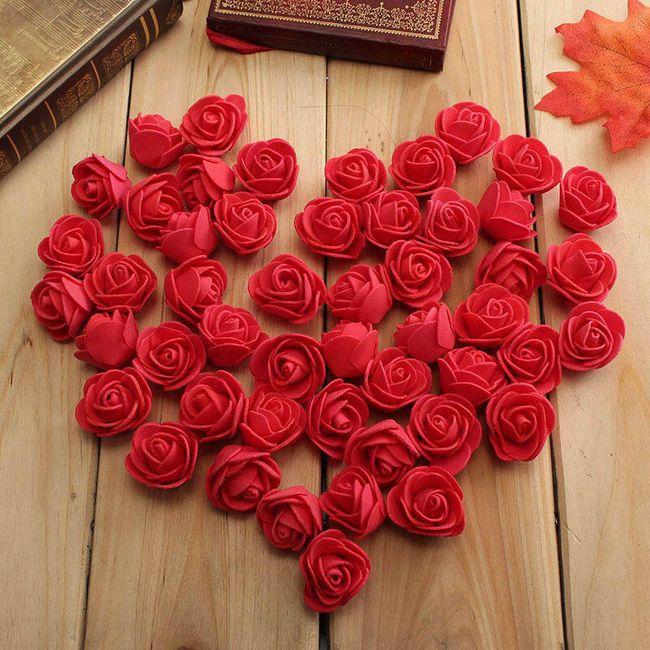 50 kosov dekorativnih vrtnic - 10 barv 1