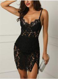 Ženska haljina od čipke Jolene