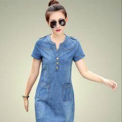 Džins haljina sa džepovima - 2 varijante