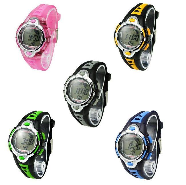 Dziecięcy sportowy wielofunkcyjny zegarek - 5 kolorów 1