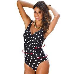 Jednodijelni kupaći kostim za ljepšu figuru