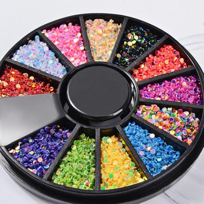 Sada flitrů - 12 barev 1