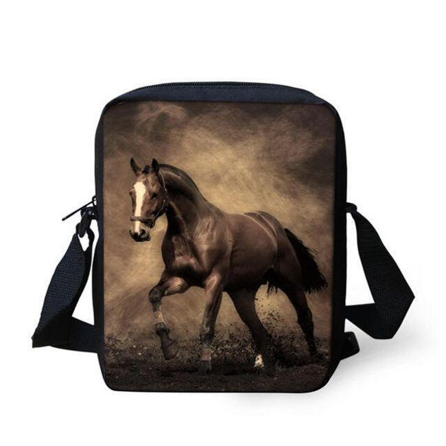 Válltáska lovakkal készült képekkel