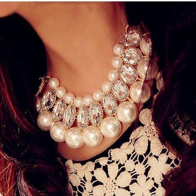 Třířadý náhrdelník 1