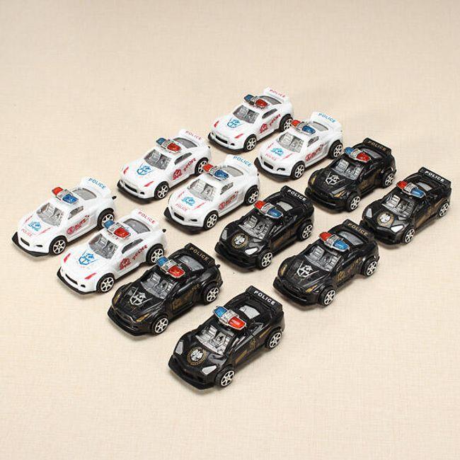 Mașini de poliție - set de 12 piese 1