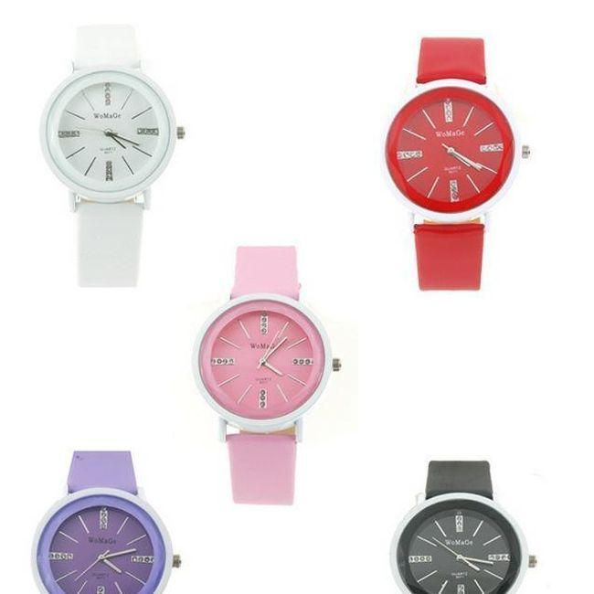 Dámské elegantní hodinky v 5 barvách 1