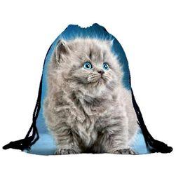 Раница за гръб с котенца