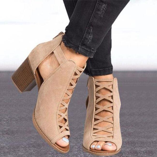 Ženske sandale na potpeticu Tallis 1