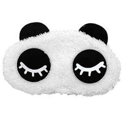 Panda alvó maszk
