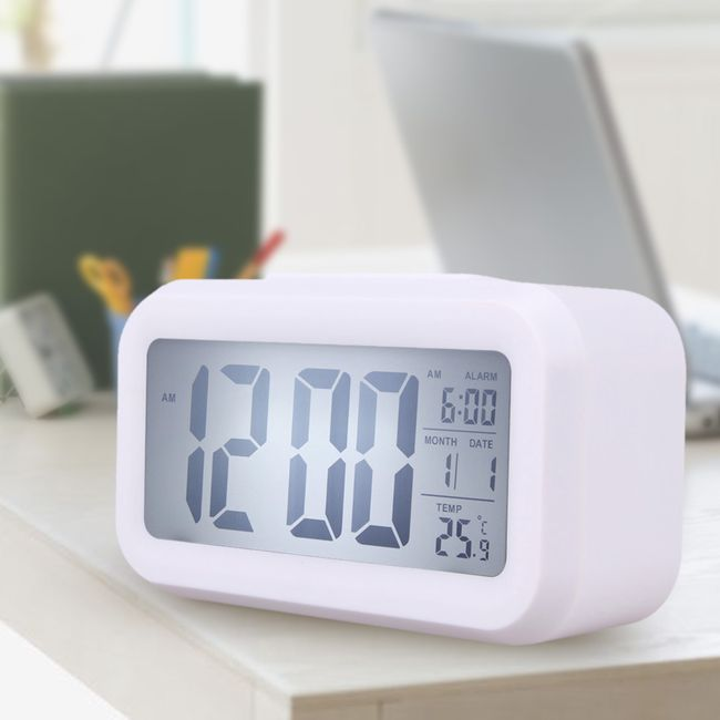 Digitalna budilka s termometrom 1