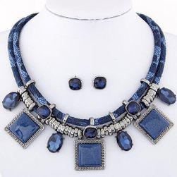 Mohutný náhrdelník s náušnicemi - 4 varianty