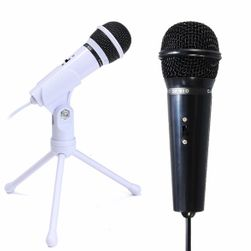 Microfon pentru înregistrare cu suport