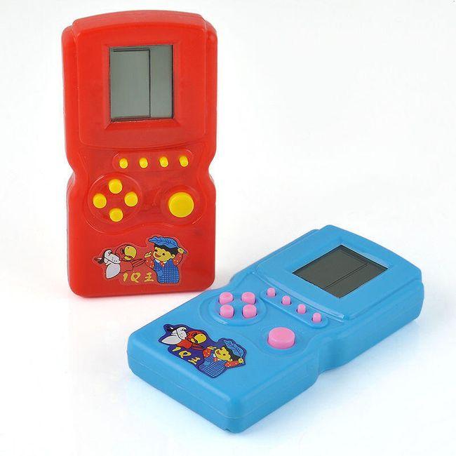 Tetris a další zábavné hry - retro hračka 1