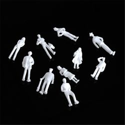 100 kusů plastových postaviček k tvorbě dioramat