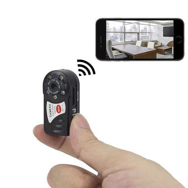 Mini skrytá kamera s podporou WiFi 1