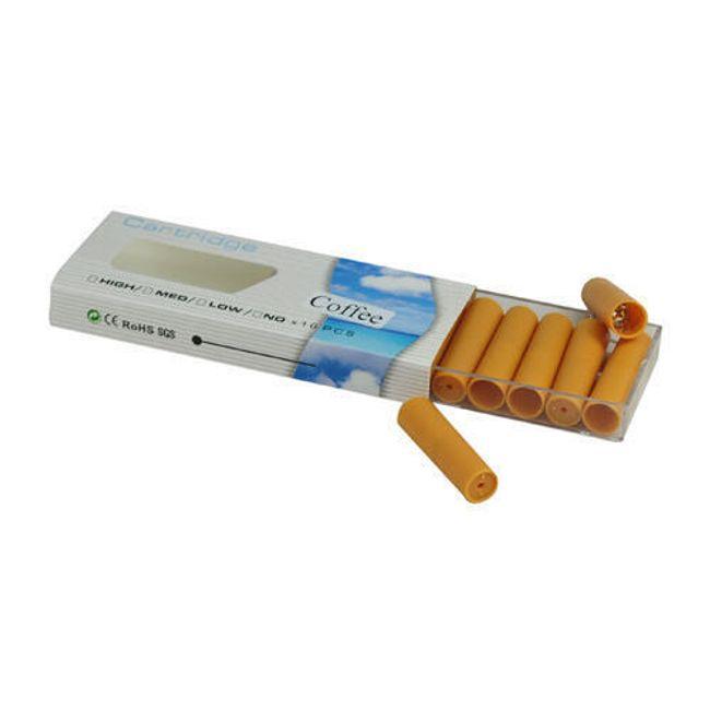Balení 10 cartridgí do e-cigarety - Káva, vysoký obsah nikotinu 1