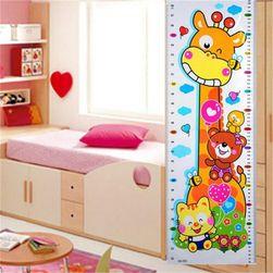 Zidna naljepnica - metar za djecu B03126