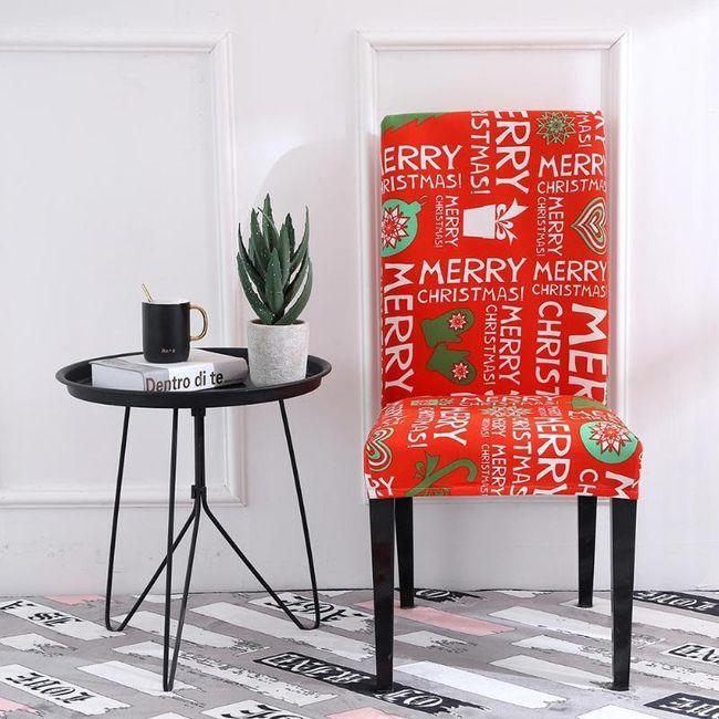 Karácsonyi fedél a székre HU4 1