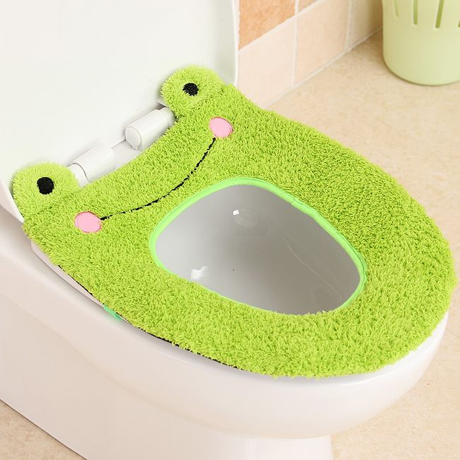 Hřejivý potah na záchodové prkénko 1