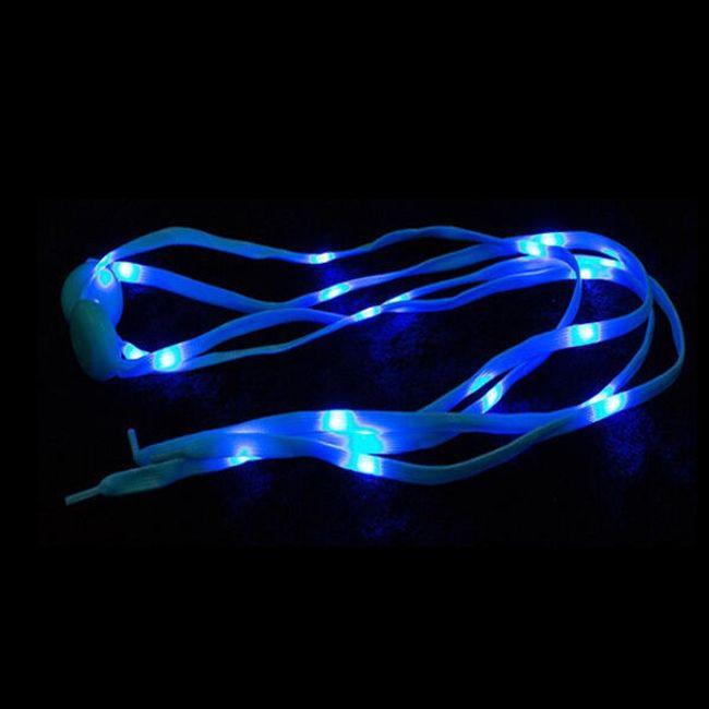 Светящиеся шнурки- 120 см. 1