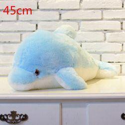 Svetleči delfin modra