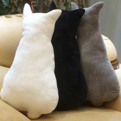 Polštářek ve tvaru kočičky