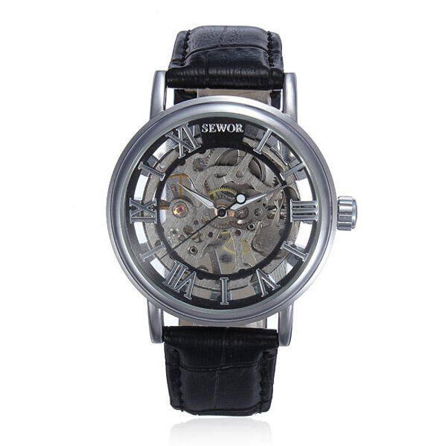 Samonatahovací hodinky Sewor 1