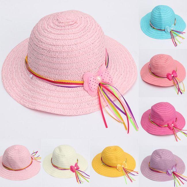 Пляжная шляпка для модницы 1