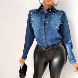 Ženska džins košulja TF1963