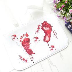 Protiskluzová podložka s krvavými skrvnami