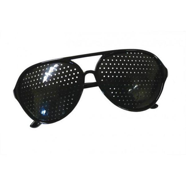 Görme geliştirme delikli gözlük 1