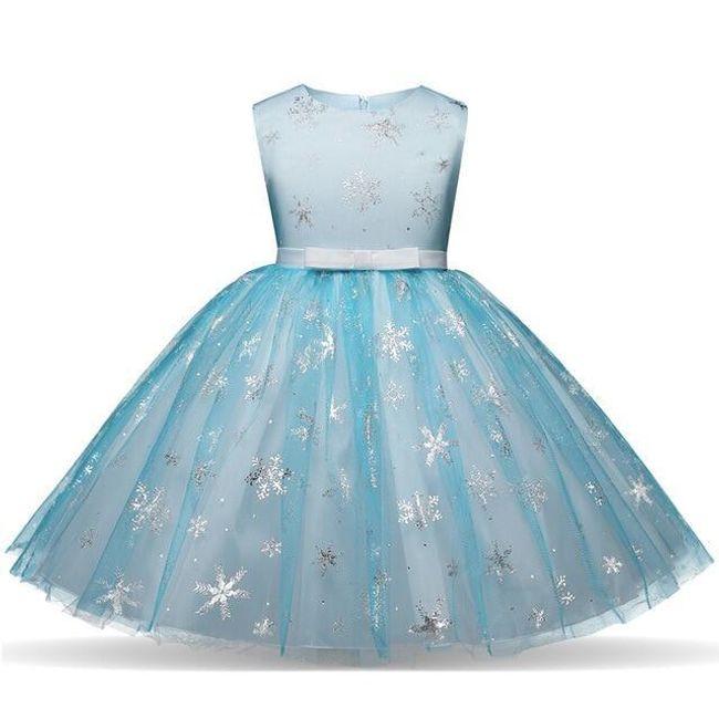 Dívčí šaty Anna 1