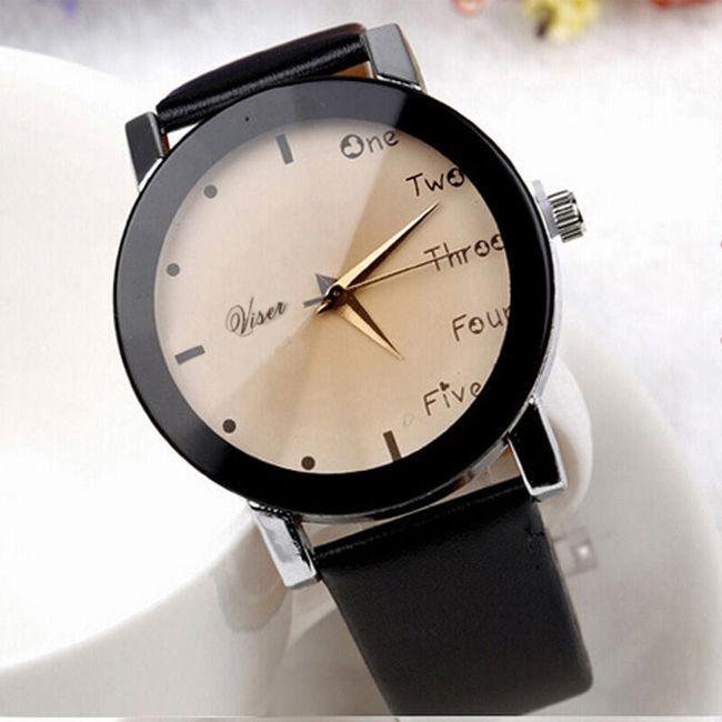 Náramkové hodinky s kombinovaným ciferníkem 1