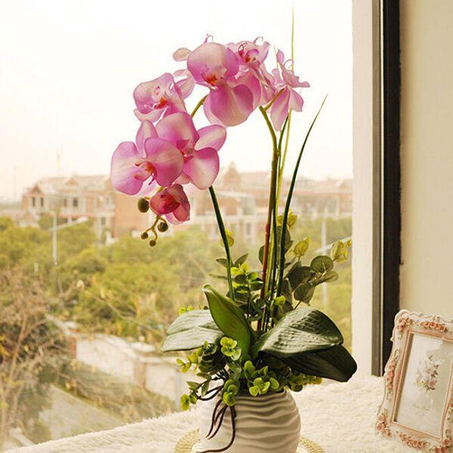 Umetna orhideja - 1 kos 1